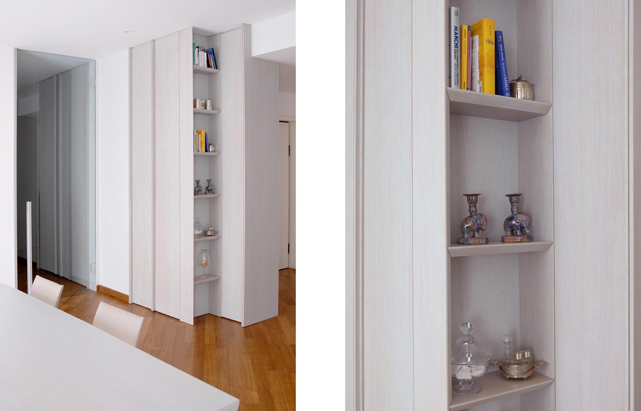 Arredamento su misura in legno per ambienti domestici